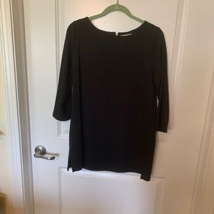 Black knit tunic